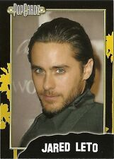 Jared Leto.  POPCARDZ #7 Trading Card. In Protective Sleeve