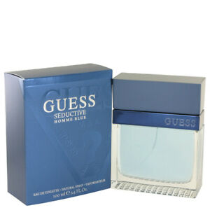 GUESS SEDUCTIVE HOMME BLUE By GUESS 3.4 oz EDT Spray MEN'S PERFUME