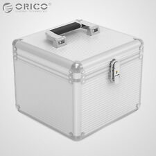 ORICO Aluminum 10Bay 3.5 Inch Hard  Drive Protection Box Shockproof Storage Case