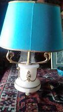 Trés raffinée petite Cassolette en albatre XIX eme montée en lampe