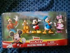 Disney Mickey Mouse & Friends Collectible Figure Pack Figurine Set of 5.