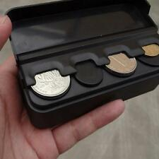 Auto Car Interior Coin Case Storage Boxes Plastic Holder Container Organizer B