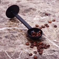 2 IN 1 Coffee Espresso Scoop 10g Plastic Measuring Spoon Tamper Length 150mmRWKG