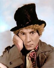"""Harpo Marx Hollywood Actor Comedian Marx Brothers 4x6"""" Hand Color Tinted Photo"""