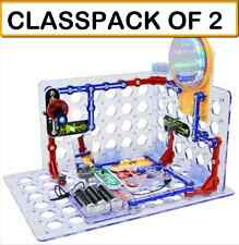 (CLASSPACK OF 2) Snap Circuits SC-3Di 3D Illumination - Build over 150 projects