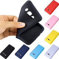 Colorful Matte Silicone Rubber TPU Case Cover For Samsung Galaxy J3 J5 2016