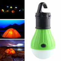 Portable Outdoor Hanging 3LED Camping Tent Light Bulb Fishing Lantern Lamp New W