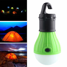 Portable Outdoor Hanging 3LED Camping Tent Light Bulb Fishing Lantern Lamp New