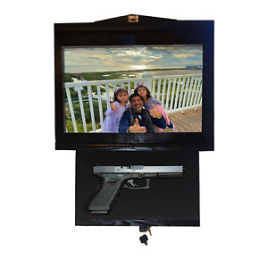 Large Gun safe with hidden lock