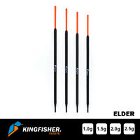 "WAGGLER FISHING FLOATS The Kingfisher ""Elder"" Pack of 4"
