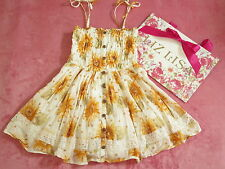 Liz Lisa Sunflower pattern Dress Lolita Hime Gyaru shibuya109 Very Cute (a365)