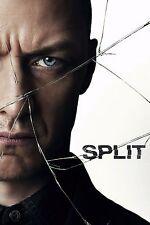 Split Movie Poster (24x36) - James McAvoy, Anya Taylor-Joy, M Night Shyamalan v3