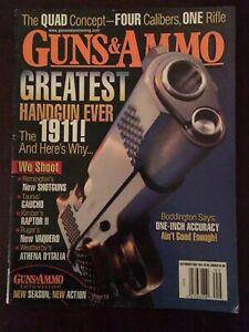 Guns & Ammo Sept 2005, The 1911, Greatest Handgun Ever Made