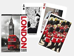 London Sights set of 52 playing cards + jokers (gib)