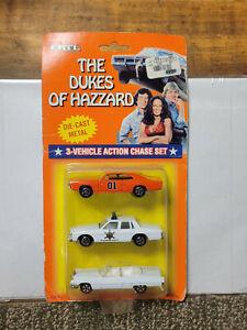 1997 ERTL The Dukes Of Hazzard General Lee 3-Car Action Set