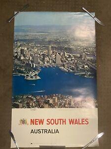Australia Travel Poster Sydney Nsw