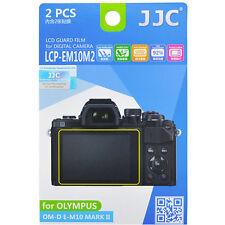 JJC LCP-EM10M2 hard polycarbonate LCD Film Screen Protector Olympus E-M10 II OMD