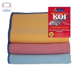 12er Set Aqua Clean Koi Spezialfasertücher 60x40cm