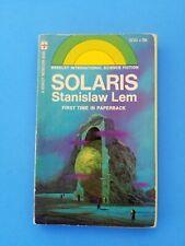 Rare - Stanislaw Lem -  Solaris  - Berkley Vintage PB 1st Ed & Printing