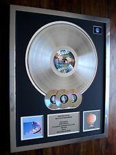 DIRE STRAITS BROTHERS IN ARMS LP MULTI PLATINUM DISC RECORD AWARD ALBUM