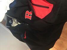 Rutgers University Nike  short  sleeve wind Jacket Men's adult Large NEW