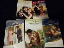 HARLEQUIN LOT OF 5 BOOKS ROMANCE HARLEQUIN IN SPANISH ACCEPTABLE CONDITION L-86