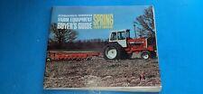 Spring 1967 INTERNATIONAL HARVESTER IH BUYERS GUIDE Farm Equipment  AD-3689-T