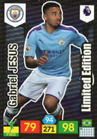 PANINI ADRENALYN XL PREMIER LEAGUE 2019/20 GABRIEL JESUS LIMITED EDITION CARD