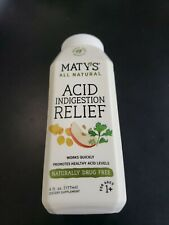 Maty's All Natural Acid Indigestion Relief Liquid 6 fl oz Whole Food Ingredients