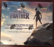 2018 Upper Deck Marvel Черная пантера коллекционная карточка запечатанная коробка Чедвик boseman?