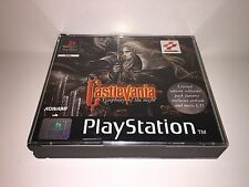 PS1 PSX CASTLEVANIA symphony of the night LE (PAL) konami 1997 complete RARE!!!