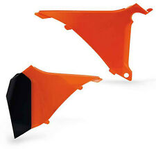 Acerbis 2205460237 Dirt Bike Plastic Air Box Cover Orange