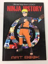 NEW Naruto Shippuden: Ultimate Ninja Storm Legacy Naruto Ninja History Art Book