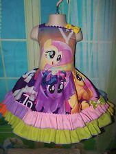 Handmade My Little Pony Twiligth Sparkle/Pinkie Pie  Dress Size 3t