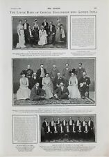 1900 PRINT LORD LADY CURZON KNIGHTS OF THE ORDER OF BLACK HEART GOVERNING INDIA