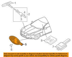 JAGUAR OEM 11-15 XJ TPMS Tire Pressuring Monitoring-Antenna C2C24208