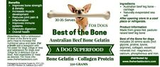 Pet Superfood - Beef Bone Broth protein & mineral powerhouse REAL FOOD