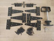 Shed Double Door Hardware Kit-T-handle, barrel bolt 5