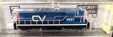 Micro-Trains Line Z Scale GP9 Powered Locomotive 98201150 RD#4557