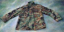 Vintage US Army Camouflage Jacket Size Large Short.