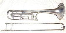 Selmer Paris  Bolero Tenor Trombone Silver With F Attachment