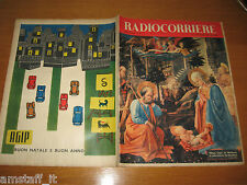 TV RADIOCORRIERE=1956/52=QUADRO FILIPPO LIPPI=LASCIA O RADDOPPIA=