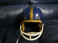 Vintage Babe Parilli Hutch Football Helmet