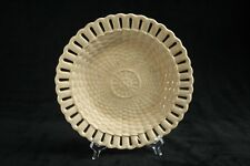 Wedgwood creamware antique basket weave dish (1850-1900)