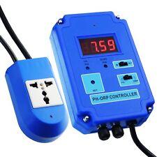 Digital Dual Water PH ORP Controller + mV PH Probe Electrode CO2 O3 110V or 220V