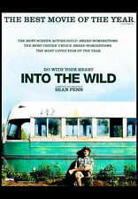 INTO THE WILD Movie Promo POSTER C Emile Hirsch Vince Vaughn Marcia Gay Harden