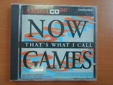 NOW GAMES  ( AMIGA CD32 - COMMODORE )