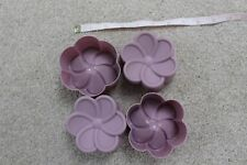4 X Flower Sugarcraft silicone Rubber Moulds Cake Decorating mold Resin
