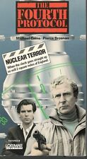 """Michael Caine/Pierce Brosnan """"The Fourth Protocol"""" (VHS, 1987) Tape"""