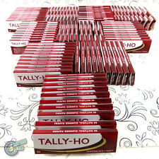 100 x 50 TALLY HO Cigarette Tobacco Rolling Roller Filter Filters Paper Papers